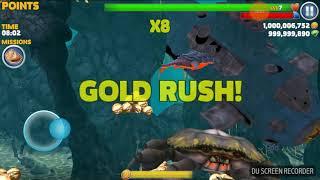 trò chơi cá mập ăn cá nhỏ cá lớn nuốt cá bé HNT chơi game #5 hungry shark evolution game new 133