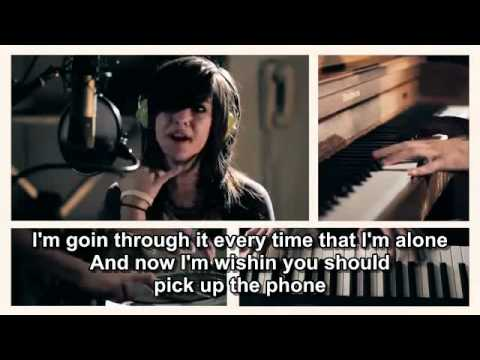 'Just A Dream' by Nelly - Christina Grimmie & Sam Tsui with lyrics