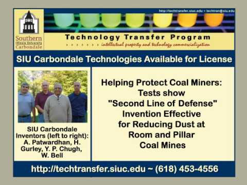 SIUC Technology Transfer: Innovative Spray System on Continuous Miners for Dust Control