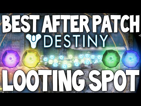 (NEW) Destiny: Amazing Looting / Farming Location For Engrams / Glimmer (AFTER PATCH)