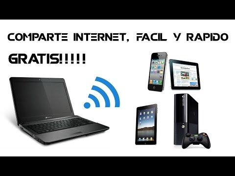 Compartir internet de tu PC a otros dispositivos SIN PROGRAMAS y desazte de connectify.