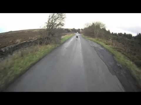 Downhill in Derbyshire, UK