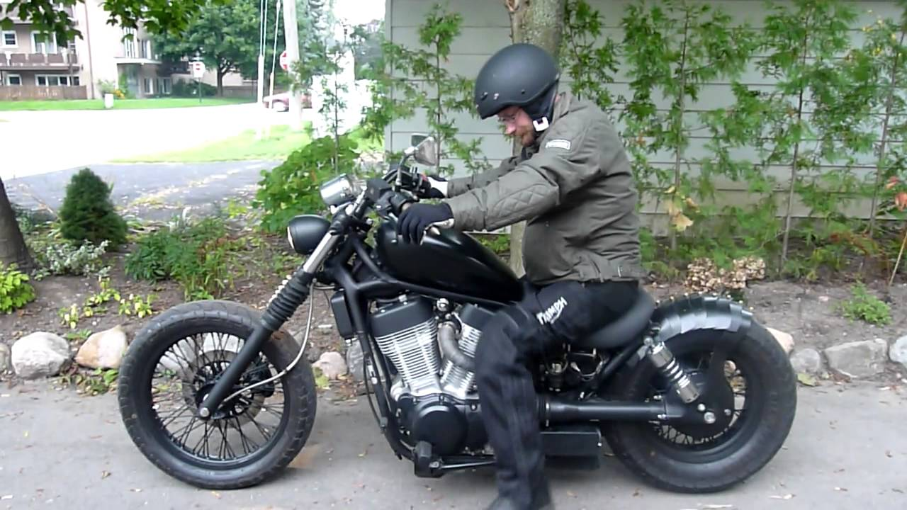 suzuki bobber vs 1400 intruder after by crusader bikes. Black Bedroom Furniture Sets. Home Design Ideas