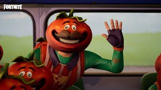 Fortnite Shorts - Bus Fulla Tomatoes