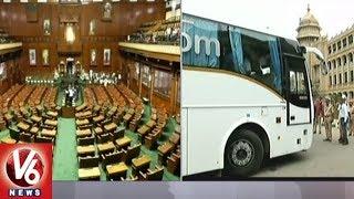 Karnataka New CM Kumaraswamy to Face Floor Test Today | V6 News