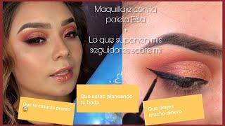 Maquillajes con Elsa de beauty creations   QUE SUPONEN SOBRE MI   PARA CUANDO ES MI BODA 👰🏻🤵🏻