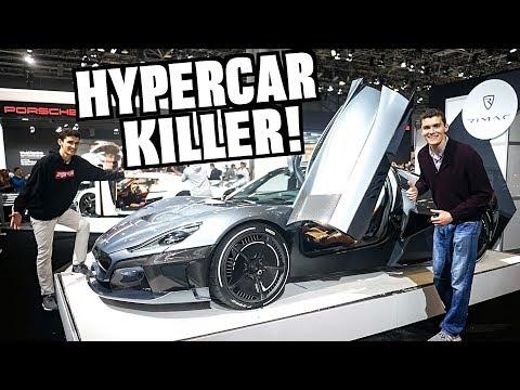The 1,900 HP Hypercar Killer! Rimac Concept Two Review!!
