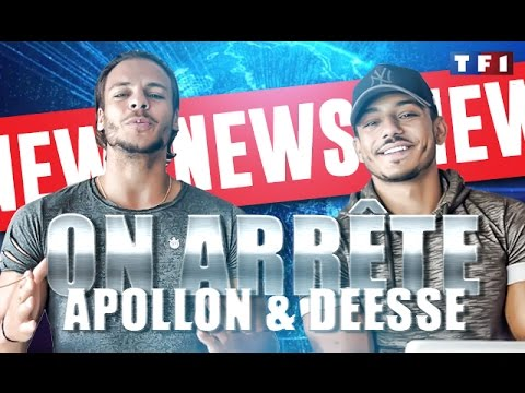 NEWS : On ARRÊTE APOLLON & DÉESSE By Bodytime