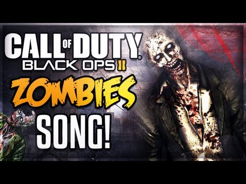 Black Ops 2: ZOMBIE SONG! - Kid Cudi Parody (Call of Duty BO2 Zombies)