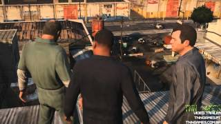 Grand Theft Auto V | GTA 5 | trailer | PS3 Xbox 360 | tnngames.pt tnngames.com.br