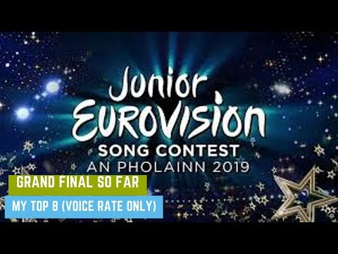 Junior Eurovision Éire 2019 Top 3 Grand Final (VOICE RATE ONLY)