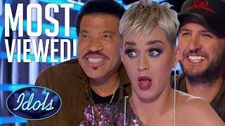 Download Lagu 10 MOST VIEWED American Idol 2018 Auditions | Idols Global Gratis STAFABAND