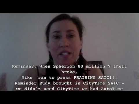Mike Bloomberg Praised SAIC - SAIC Fires Head Guy NYC! More Corruption Fall-Out To Come!!!!