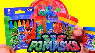 Speed Coloring PJ Masks - Learn Colors, Connect the Dots, and Other Fun Activities for Kids