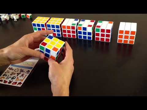 Пошаговую инструкцию сборки кубика рубика