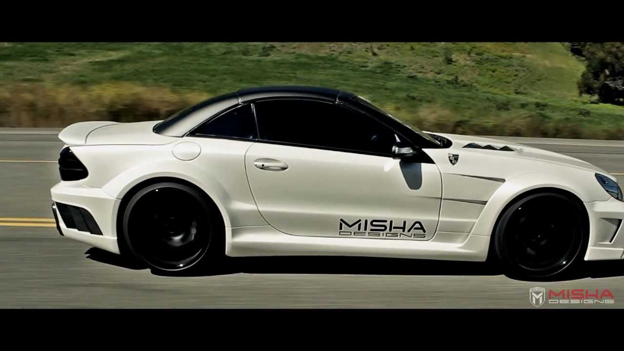 Misha Designs Mercedes Sl Widebody Amp Cls Body Kit Youtube