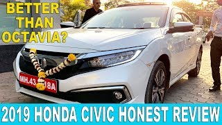 2019 Honda Civic Review | Price, Features, Interiors | Hindi