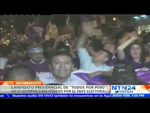 Candidatura presidencial en Perú queda en ?entredicho? tras ser cuestionado proceso de inscripción