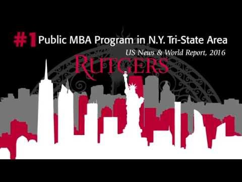 Rutgers Business School: #1 Public MBA in New York Tri-State Area