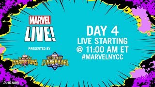 Marvel LIVE from NYCC 2019! | Day 4