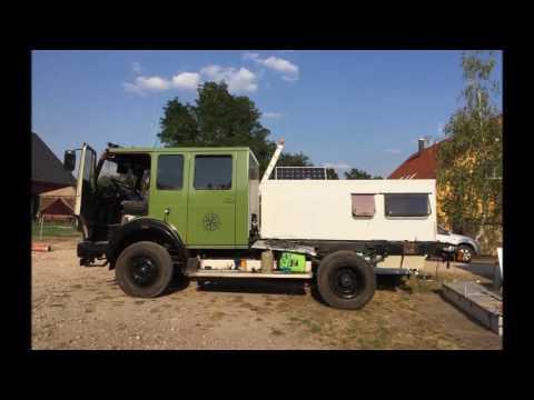 Mercedes Benz NG 1222 Allrad LKW  Umbau