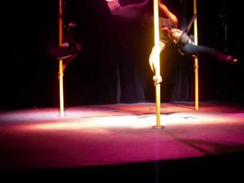 Pole Dance performance at the Ice House in East Atlanta