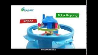 blue gaz Lebih Aman - Iklan TV