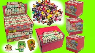 Full Box My Mini MixieQ's Surprise Blind Bag with 2 Mystery Dolls - Cookieswirlc Toy Video
