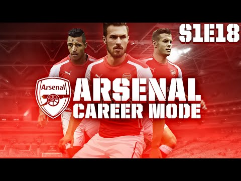 FIFA 15 Arsenal Career Mode - PREMIER LEAGUE FINALE S1E18