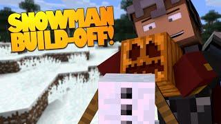 Minecraft | Do You Wanna Build a Snowman? | Snowman Building Minecraft Challenge! (Minecraft 1.8)