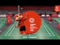 EUG 2018 | Badminton Competition - Group Phase - 15/07