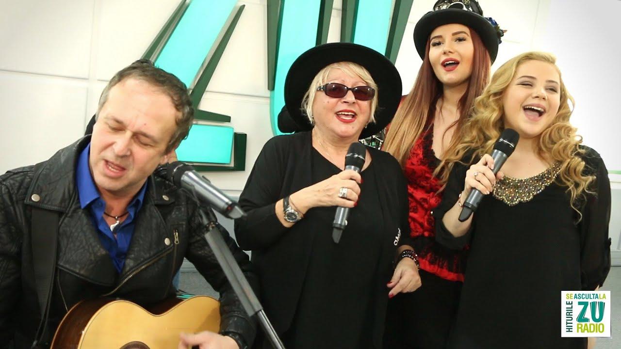 COLINDE live la ZU - Mirabela Dauer, Patricia Baciu, Maria Craciun si Mihai Napu Band