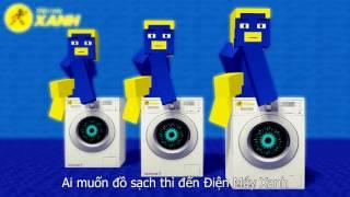 QUẢNG CÁO MÁY GIẶT ĐIỆN MÁY XANH - Minecraft Parody Animation
