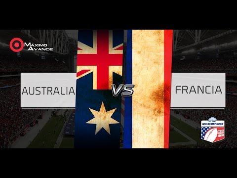 Australia vs Francia RADIO