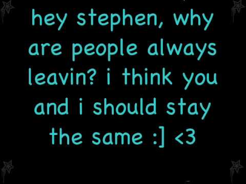 Taylor Swift- Hey Stephen lyrics