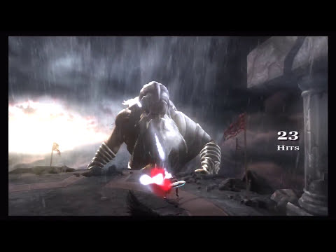 God Of War Road To Ascension-GOW2 Kratos VS Zeus 1 Hard Part94 KG