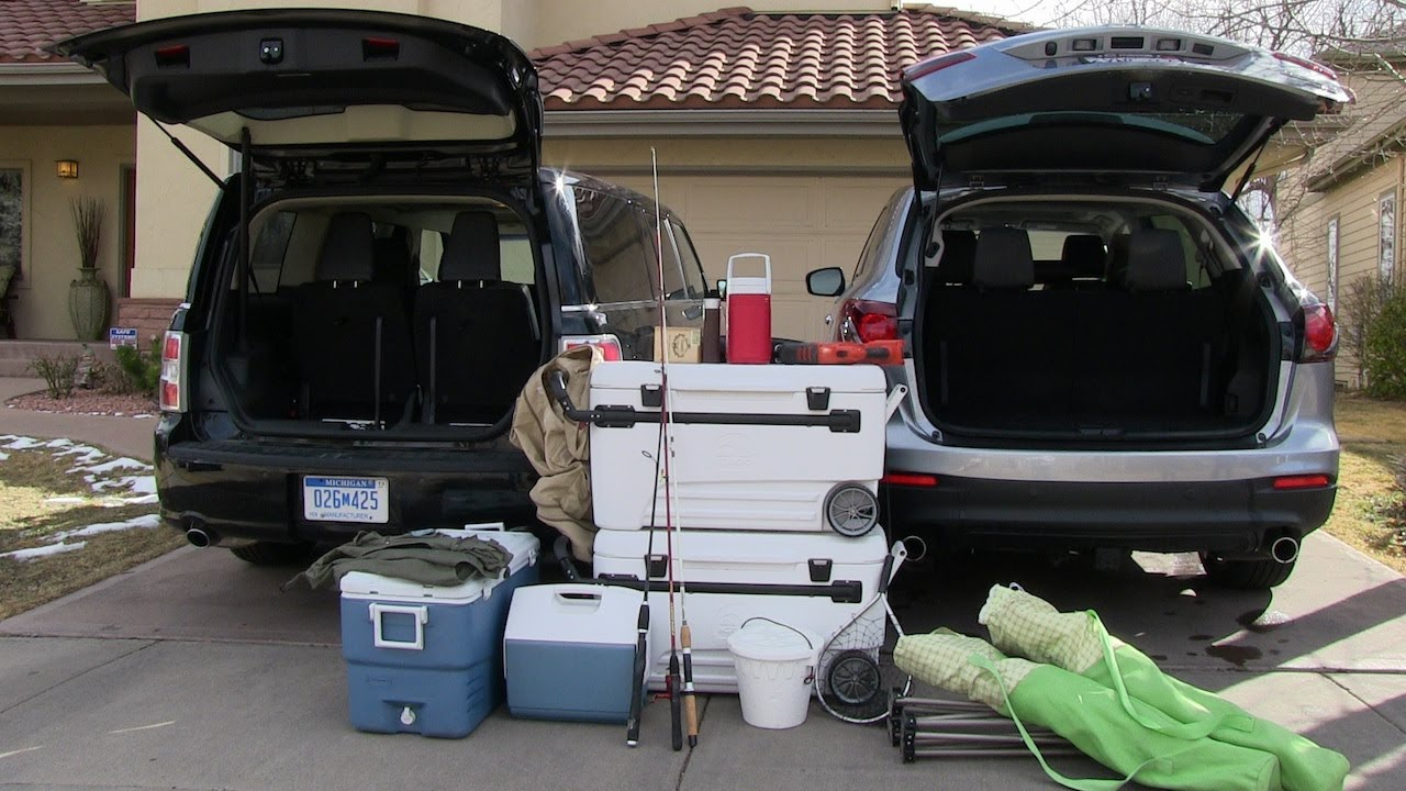2013 ford flex vs mazda cx-9  what is the best camping car mashup review