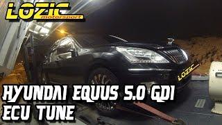 Hyundai Equus 5.0 GDI ECU tune, Lozic