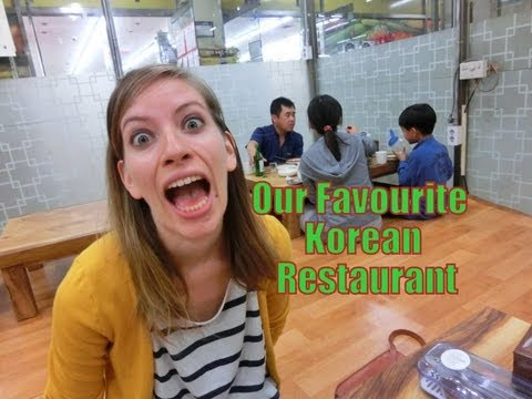Our Favorite Korean Restaurant | Life in Korea | Anseong, South Korea
