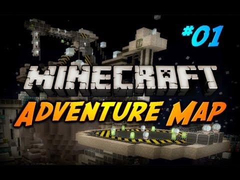 """Minecraft Maps - """"Deep Space Turtle Chase"""" - Ep. 1 (CaptainSparklez Adventure Map)"""