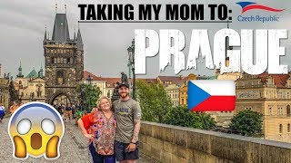 Is this THE BEST CITY in EUROPE?... Taking my MOM to PRAGUE!