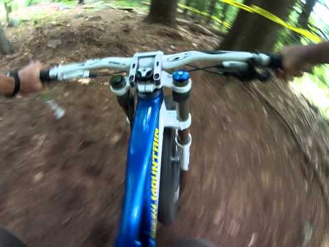 2014 ESC Downhill Thrill race at the Pats Peak Mountain Bike Festival