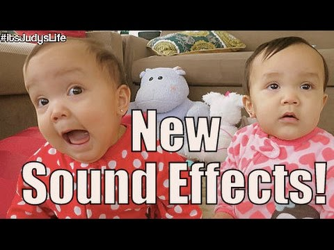 New Sound Effects! - January 19, 2015 -  ItsJudysLife Vlogs
