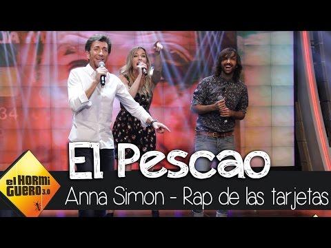 El rap de las tarjetas opacas de Trancas y Barrancas El Pescao Anna Simon y Pablo Motos