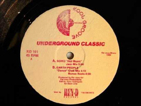 Earth People - Dance (Club Mix) 1989