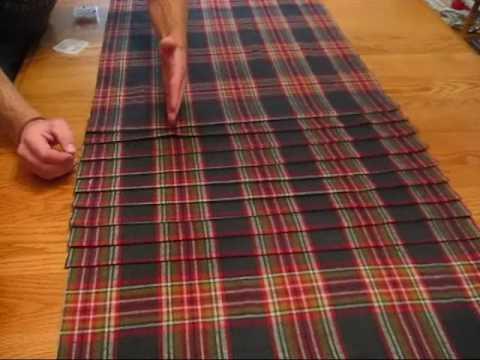Making of the Kilt