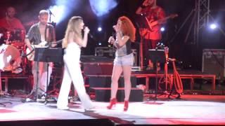Anna Vissi ft Evelina Papoulia, Me Agapi Apo Mena Gia Sena, Nicosia, 30/07/2013 [fannatics.gr]