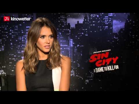 Interview Jessica Alba SIN CITY: A DAME TO KILL FOR
