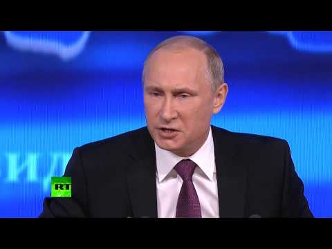 Putin: West wants to chain the Russian bear, no way they'll stuff it