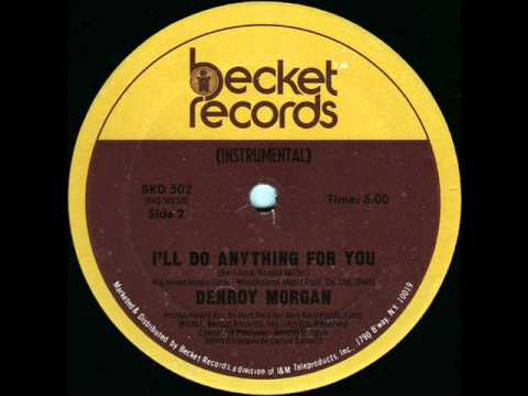 Denroy Morgan - I'll Do Anything For You - Instrumental 1981 video